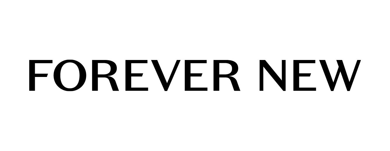 updated forever new logo b&w